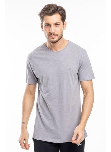 Slazenger Slazenger SAND Erkek T-Shirt  Gri